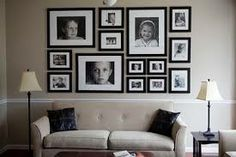 wall collage - varied sizes
