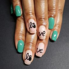 For the love of #crossfit. #naturalnails #longnailbeds...