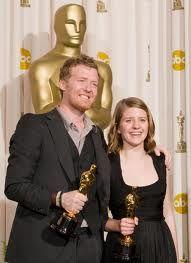 Marketa irglova and Glen Hansard Oscar 2008