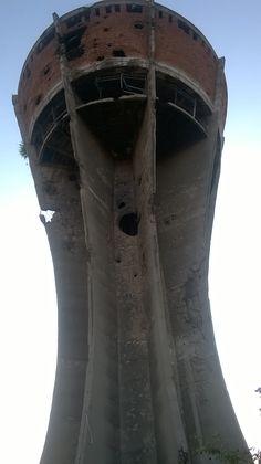 Vukovar Watertower Visit Vukovar it is beatiful. Destroyed in war. Water Tower, War, Decor, Decoration, Decorating, Deco