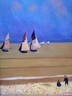 Félix Vallotton 1912 Les barques