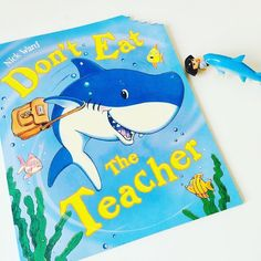 "READ: Don't Eat The Teacher by Nick Ward.  This lovely book was in our JANUARY THE SEA BOX.  'But when Sammy became too excited he had the unfortunate habit (as all young sharks do) of biting things. Sammy opened his mouth and....CRUNCH! ""Oh Sammy"" companied his mother. ""Don't eat the table."" MONKEYS will love this sweet silly story. Especially those at school. Will he eat the teacher? They will also LOVE the bite mark in the corner of the book.  ADULTS: will love reading this book building…"