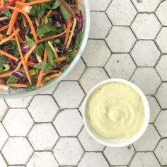 Healthy Creamy Salad Dressing | Registered Nutritionist | Sarah Moore