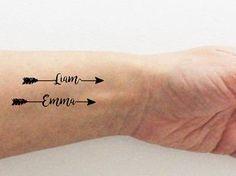 4 tatuajes temporales personalizad os con el por encredelicate