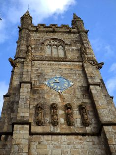 """Holy Trinity Church, St Austell, Cornwall also blog post : """"The Little Dog Looking Down From The Top Of St Austell Church Tower"""" #Cornwall"""