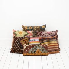 Colorful Turkish Textiles | Kilim Pillows | Birch & Brass Vintage Rentals | Weddings and Corporate Events | Austin, Texas