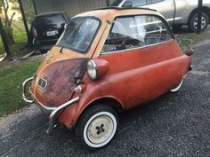 Bmw Isetta, Counting Cars, Flying Car, 3rd Wheel, Fiat 500, Barn Finds, Bmw Cars, Vintage Cars, Cool Cars