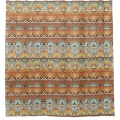 "Title : 203 Tribal, Native American, Brown Beige Blue Prin Shower Curtain  Description : Words to describe Tribal; ""Native-American's, Indian, Tribes, ""Tribal-Prints"", ""Geometric-Patterns"", ""Miscellaneous-Shapes"", Diamonds, Squares, Arrows, ""Repetitive-Patterns"", ""Fabric-Weaving"", Tapestry, Beads, ""Animal-Bones"", ""Ethnic-Tribes"", Cultural, Cultures, ""Southwest-Patterns"", ""Animal-Pattern-Prints"", ""Ethnic-Prints"", Ganado, ""Native-Traditional-Patterns"", Ikat, ""Navajo-Art"", Weaving…"
