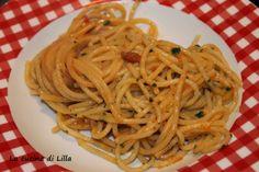 La cucina di Lilla (adessosimangia.blogspot.it): Piatti di pesce: Spaghetti ai ricci