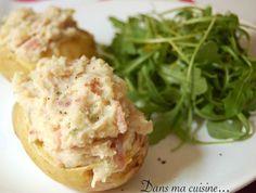 Dans ma cuisine (et ailleurs!) - Pommes de terre à la crème et aux deux jambons