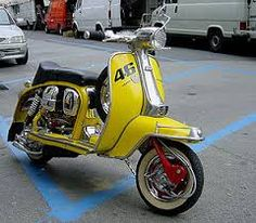 Ready steady go Lambretta
