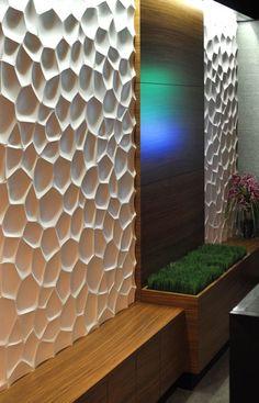 Wall panels Textured wall panels. #wall panels #wall art www.kerma.hu