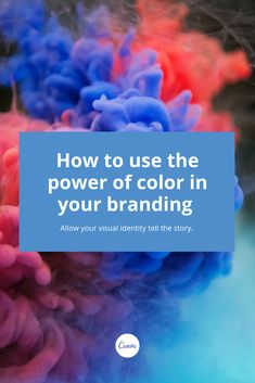 In this article, we give you the tips you need to use the power of color to increase brand awareness and communicate a clear message to your audience. What Colors Mean, Color Meanings, Visual Identity, Being Used, Meant To Be, Things To Come, Branding, Symbols, Graphic Design