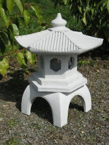 Exceptionnel This Garden Pagoda Is Cast In Three Pieces, And Produced With Very  Detailed, Elegant Garden Ornamentation.
