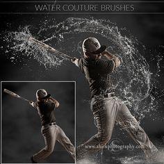 water-splash-brushes-photoshop-baseball