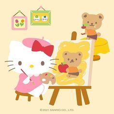 Sanrio Characters, Fictional Characters, Little Girls, Pikachu, Super Cute, Wallpaper, Cats, Drawings, Paradise