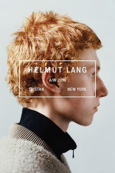 Helmut Lang Fall-Winter 2016-2017 Ad Campaign • Minimal. / Visual.