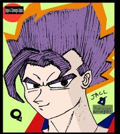 SuperZirtuyari Goku.