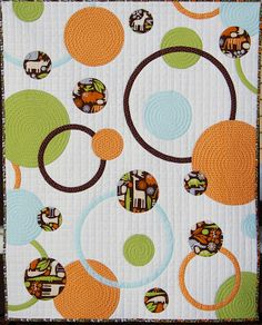 Quilting: Circles and Rings Baby Quilt