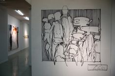 """Some (more) cool art from Futura's """"Introspective"""" exhibition"""