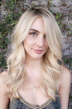 """The Top 5 Spring Hair Trends To Take L.A. #refinery29  http://www.refinery29.com/la-hair-stylist-spring-trends-2016#slide-13  Icy BlondStylist: Liz JungSalon: Mèche SalonWhat To Ask For: Pale babylightsJung calls the look she created here """"buttercream babylights."""" (Tha..."""