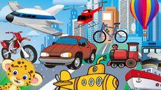 Adivinanzas para niños de los medios de transporte