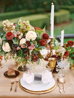 Elegant Estate Wedding Inspiration. Photography: Marisa Holmes - marisaholmesblog.com
