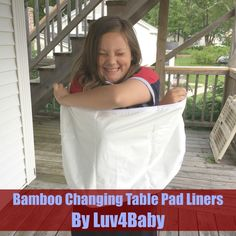 Bamboo Changing Table Pad Liners By Luv4Baby