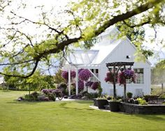 so in my dream house backyard I would have a little house like this that would be my art studio :)