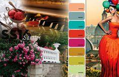 FASHION VIGNETTE: Colors