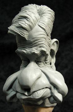 I love caricature sculptures Matthau by ~MonsterPappa on deviantART