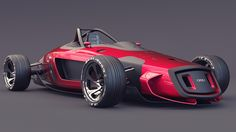This isn't just another racing car render. Well, OK, it isjust another racing car render, but it's a render that carries the weight of history on itsshoulders. A digital artist by the name of Burov Art has offered an update to the Auto Union racers of the 1930s, bringing the single seater monsters up to date with some nattyPhotoshopping.