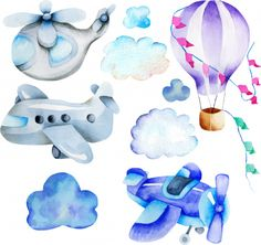 Vector Graphics, Vector Free, Invitation, Adobe Illustrator, Smurfs, Transportation, Balloons, Royalty Free Stock Photos, Hand Painted
