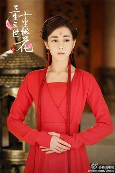 Hanfu from Three Lives Three Worlds, Ten Miles of Peach Blossom 《三生三世十里桃花》 - Dilraba Dilmurat