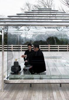 希有な体験を生み出す光の空間|吉岡徳仁 ガラスの茶室-光庵 (2/4)|アート|Excite ism(エキサイトイズム)