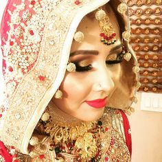 Preview of the makeup I did yesterday on this beautiful Afghan Bride #professionalmakeupartist #summerbride #red #redlips #rubywoo #smokyeyes #gold #arabicmakeup #arizonamakeupartist #arabiceyes #smoky #mac #urbandecay #chandlermua #chandler #phoenix #makeupbyme #makeupmafia #makeupaddict #afghanbride #afghanwedding #glitter