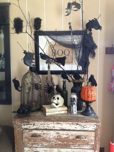 Dollar tree decor.. Halloween