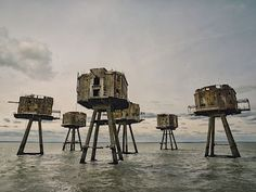 English history winner Red Sands Sea Forts, Thames Estuary, by Mark Edwards Amazing Photography, Nature Photography, Photography Tips, Bodiam Castle, Whitby Abbey, Mont Saint Michel, National Treasure, Famous Places, Source Of Inspiration