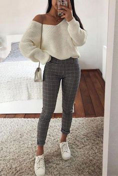 31 sweet fall styles for women winter fashion 2019 - Christine, . - 31 sweet fall styles for women winter fashion 2019 – Christine, … – FASHION - Winter Fashion Outfits, Look Fashion, Spring Outfits, Trendy Fashion, Trendy Style, Ootd Spring, Spring Fashion, Cute Fashion Style, Fashion 2018