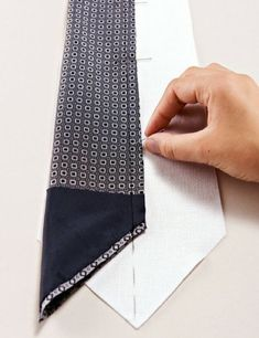 How to Sew Your Own Tie – Sewing Blog | BurdaStyle.com