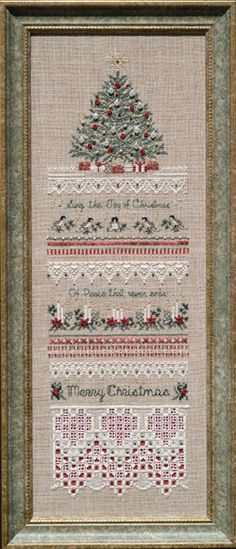 The Victoria Sampler - Heirloom Christmas Leaflet - Some day I'll get brave enough to attempt this pattern.