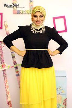 block colors hijab
