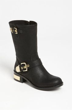 Vince Camuto 'Winchell' boot - goldish boots