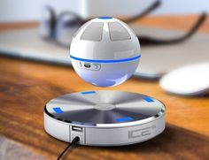 ICEORB Floating Bluetooth SpeakerFloating Speaker Orb spinning...