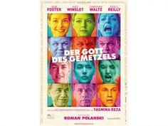 Der Gott des Gemetzels mit Christoph Waltz, Jodie Foster, Kate Winslet und John C. Reilly