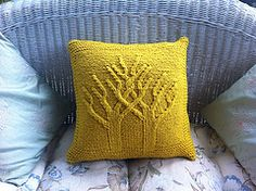 Ravelry: Two Become One Wedding Pillow pattern by Ash Kearns