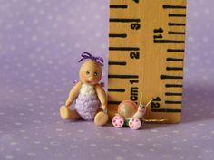 Micro Miniature OOAK Articulated Doll