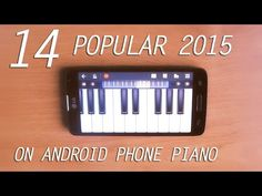 14 Popular 2015 Songs On Android Phone Piano #music #android #perfect #piano #playing #pianist #phone #popular #song #songs #2015 #technology #inspiration #uptown #funk #see #you #again #adele #hello #design #desk #fingers #black #white #youtube #video #recording #studio #quality #famous
