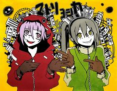 Chrona and Maka Matryoshka <3