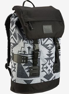 The Burton Womens Tinder pack has vintage rucksack styling. Plus 0da4c3f609e5a